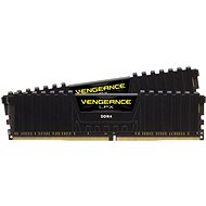 Corsair 16GB KIT DDR4 3000MHz CL16 Vengeance LPX Black - System Memory