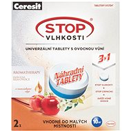 CERESIT Stop Humidity Micro 3in1 energetic fruit 2 x 300g replacement tablets - Dehumidifier