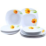 DOMESTIC Dining set TULIP 12 pcs - Dish set