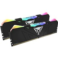 Patriot Viper RGB Series 16GB KIT DDR4 3200Mhz CL16 DDR4 Black - System Memory