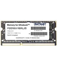 Patriot DDR3 4GB 1600MHz CL11 SO-DIMM Ultrabook Line - System Memory