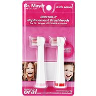 Dr. Mayer RBH10K-P spare head for GTS1000K - 2 pcs - pink - Replacement Head