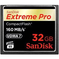 SanDisk Compact Flash 32GB 1000x Extreme Pro - Memory Card