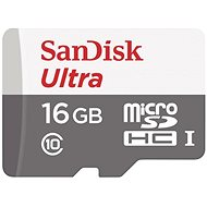 SanDisk MicroSDHC 16GB Ultra Android Class 10 UHS-I - Memory Card