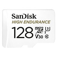 SanDisk microSDHC 128GB High Endurance Video U3 V30 + SD Adapter - Memory Card