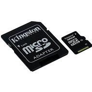 Kingston microSDHC 32GB Class 10 UHS-I + SD Adapter - Memory Card