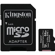 Kingston Canvas Select Plus micro SDXC 64GB Class 10 UHS-I - Memory Card