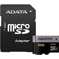 ADATA Premier Pro V30S micro SDHC 32GB UHS-I U3 + SD adapter - Memory Card