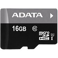 ADATA Premier micro SDHC 16GB UHS-I A1 Class 10 - Memory Card