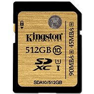 Kingston SDXC 512GB UHS-I Class 10 - Memory Card
