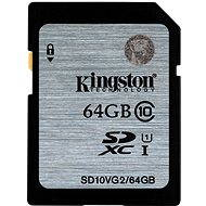 Kingston SDXC 64GB Class 10 UHS-I - Memory Card