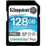 Kingston Canvas Go Plus SDXC 128GB - Memory Card