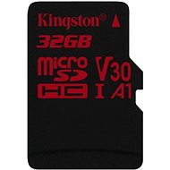 Kingston Canvas React MicroSDHC 32GB A1 UHS-I V30 - Memory Card