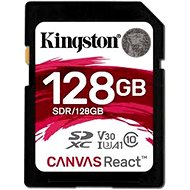 Kingston Canvas React SDXC 128GB A1 UHS-I V30 - Memory Card