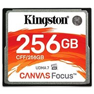 Kingston Compact Flash 256GB Canvas Focus - Memory Card