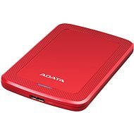 ADATA HV300 external HDD 1TB 2.5'' USB 3.1, red - External hard drive