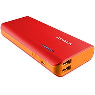 ADATA PT100 Power Bank 10,000mAh Red/Orange - Powerbank