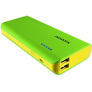 ADATA PT100 Power Bank 10,000mAh Green-Yellow - Power Bank