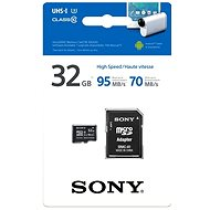 Sony microSDHC 32GB Class 10 + SD adapter - Memory Card