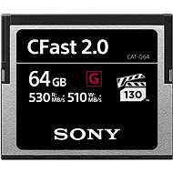 SONY G SERIES CFAST 2.0 64GB - Memory Card
