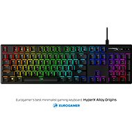 HyperX Alloy Origins Aqua Switches - Gaming Keyboard