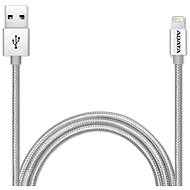 ADATA Lightning data cable MFi 1m Silver - Data cable