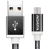 ADATA microUSB 1m black - Data cable