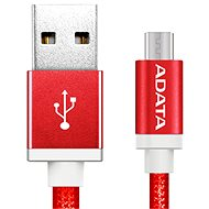 ADATA microUSB 1m red - Data cable