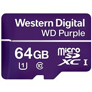 WD Purple MicroSDXC 64GB UHS-I U1 - Memory Card