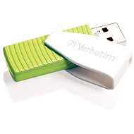 Verbatim Store 'n' Go SWIVEL 32GB eucalyptus green - USB Flash Drive