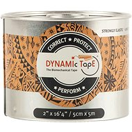 Beige Black Dynamic Tape, 5cm - Tape