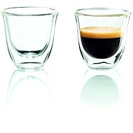 DeLonghi Espresso Glasses - Glass for Hot Drinks