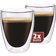 Maxxo Thermo DG830 Coffee Glass Cups - Glass for Hot Drinks