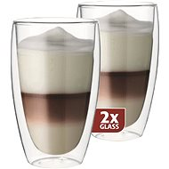 Maxxo Thermo DG832 latte glasses - Glass for Hot Drinks