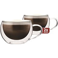 Thermo-Glass Maxxo Thermo DH913 Cappucino Glass Cups - Termosklenice