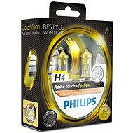 PHILIPS H4 ColorVision Yellow, P43t-38 socket, 2pcs - Car Bulb