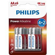 Philips LR6P6BP 6pcs in pack - Alkaline battery