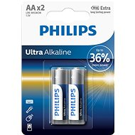 PhilipsL LR6E2B 2pcs per package - Alkaline battery