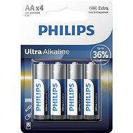 Philips LR6E4B 4pcs in a package - Alkaline battery