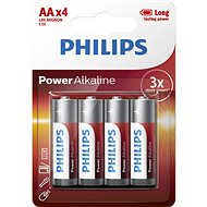 Philips LR6P4B 4 Pack - Alkaline battery