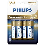 Philips LR6M4B 4 pcs per pack - Alkaline battery