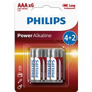 Philips LR03P6BP 6pcs - Battery