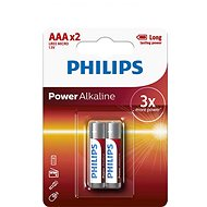 Philips LR03P2B 2 pcs per package - Alkaline battery