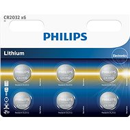 Philips CR2032P6 6 pcs in package - Alkaline battery