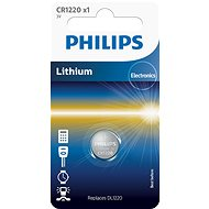 Philips CR1220 1 unit per package - Button Cell