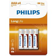 Philips R03L4B 4pcs included - Alkaline battery