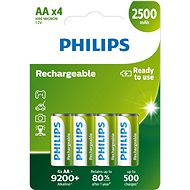 Philips R6B4RTU25 4 pcs per pack - Rechargeable Battery