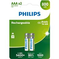 Philips R03B2A80 pack of 2 - Rechargeable battery