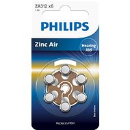 Philips ZA312B6A 6pcs in a pack - Battery