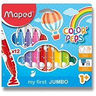 MAPED Colour Peps Maxi 12 colours - Felt Tip Pens